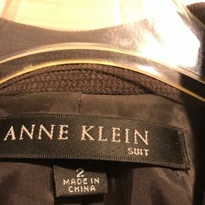 Anne Klein Jackets & Coats - Anne Kline deep plum woman's suit